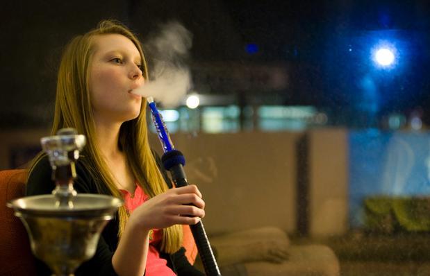 Hookah-smoking