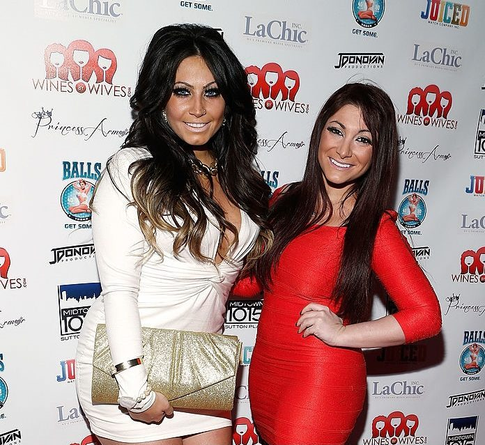 Deena Cortese attend 'Jerseylicious' Season 5 Premiere Party at Midtown Sutton on January 28, 2013 in New York City.