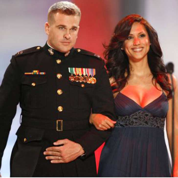 Leeann Tweeden with her Husband Chris Dougherty