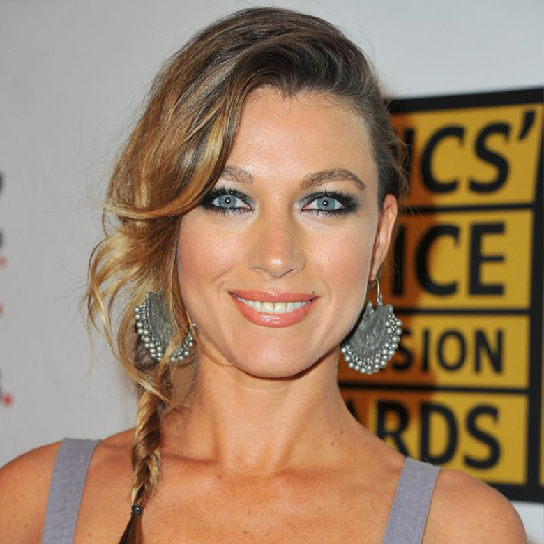 Natalie Zea on Critics Choice Television Awards