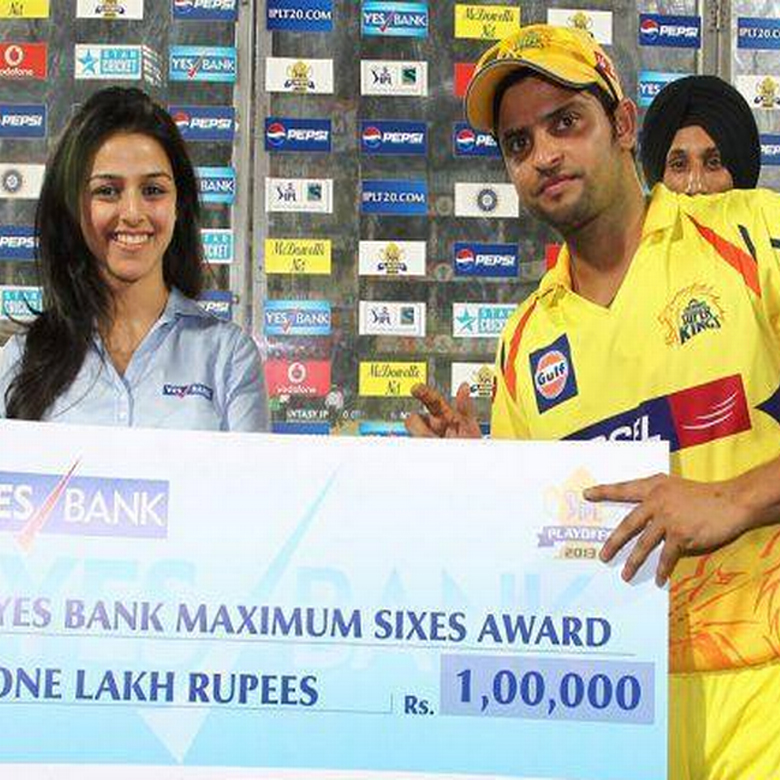 Rakhee Kapoor Tandon as the sponsor of IPL 8