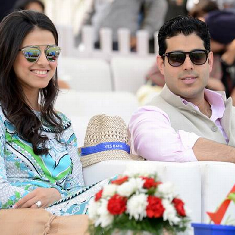 Rakhee Kapoor Tandon with Alkesh Tandon