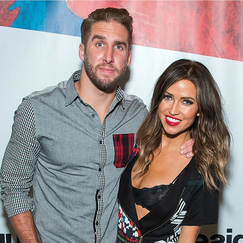 shawn booth and kaitlyn bristowe attend the desigual fashion show during spring 2016 new york