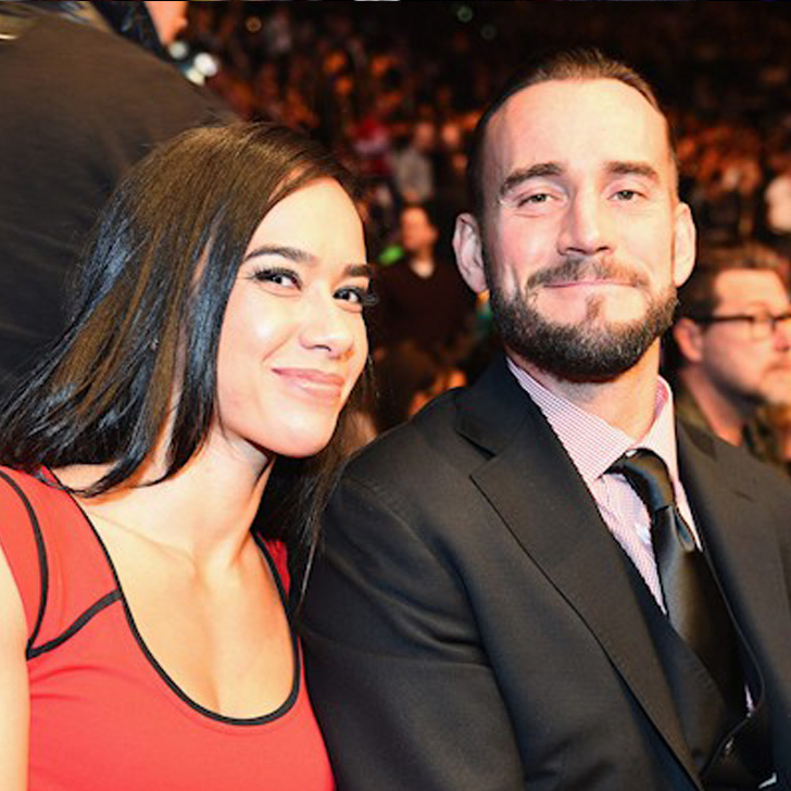 CM Punk and his wife AJ Lee