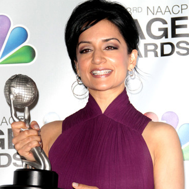 Archie Panjabi with 43rd NAACP Image Award
