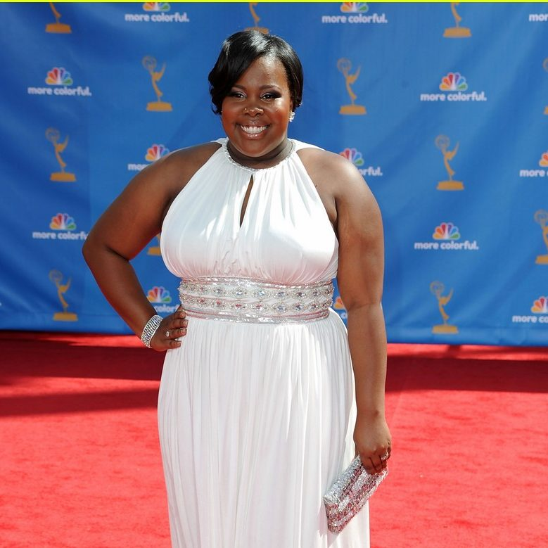 Amber Riley in Emmy Awards