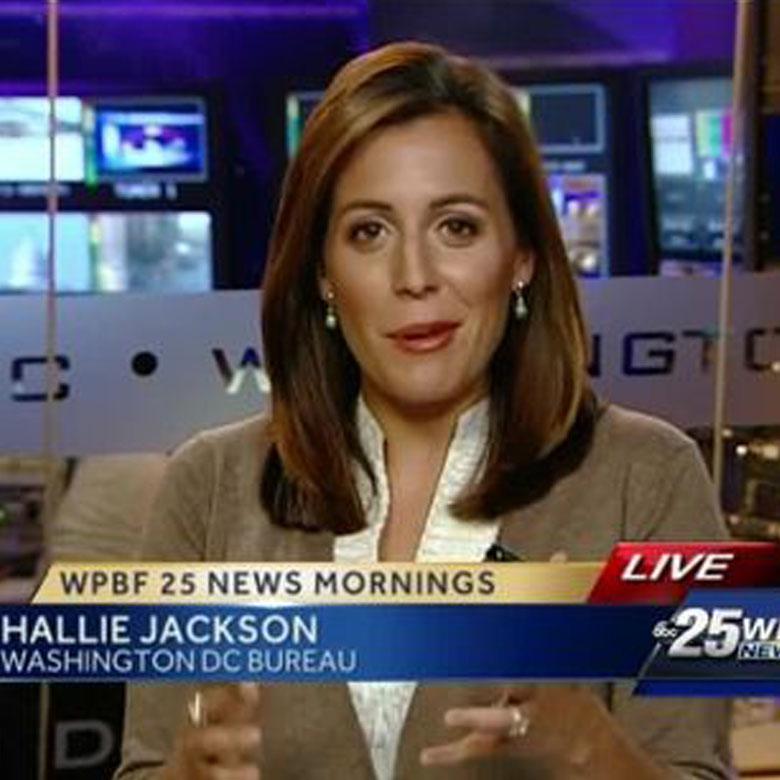 Hallie Jackson reporting live