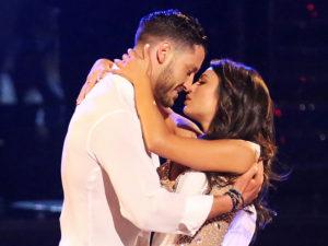 boyfriend, kiss, Dancing with the Stars Justin Altamura