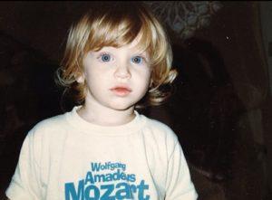 Keegan Allen kid childhood baby