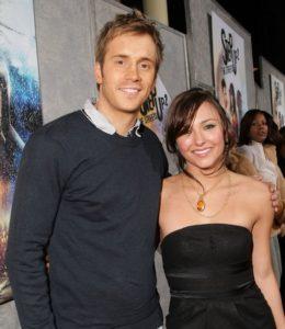 Briana with her partner, boyfriend