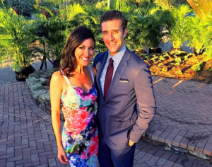 Will Carr and his 'supossed' girlfriend, Marci Gonzalez, ABC News Correspondent on their to Delay Beach, Florida Source: Instagram/October 24, 2016