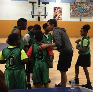 Coach Will Carr and his team Boys & Girls Club Santa Monica