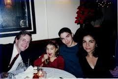 David Asman with his life partner, son and daughter