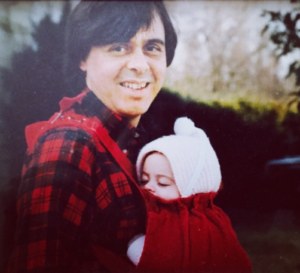 A throwback of young Melanie Hamrick and her father Source: Instagram/Melanie Hamrick
