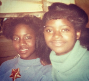 A throwback of 14 years old, young Octavia Spencer and her friend, Vanessa Harris Source: Instgram/Octavia Spencer