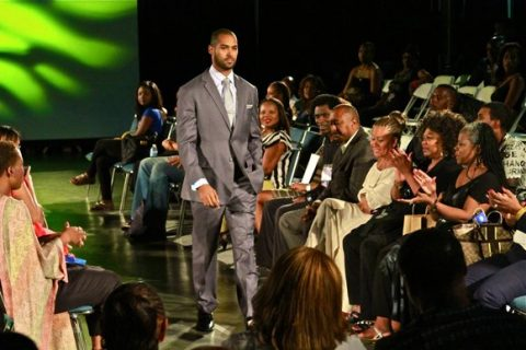 Lamon Archey in runway