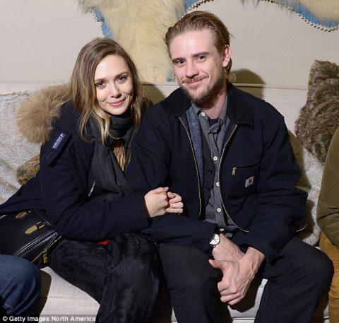 Boyd and his ex-girlfriend, Elizabeth Olsen