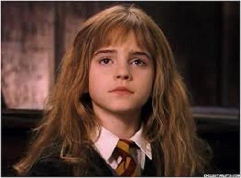 Emma Watson, during her childhood
