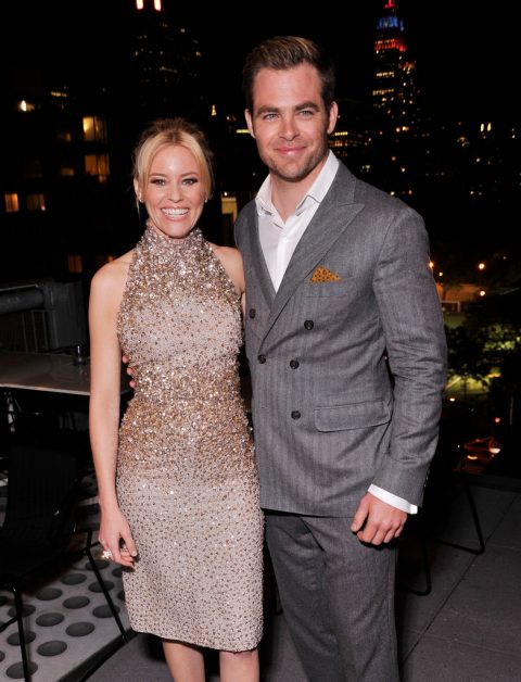 Chris Pine with his ex-girlfriend Beau