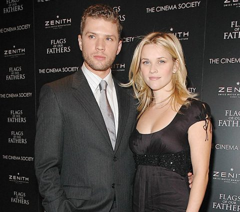 Reese and her first husband Ryan