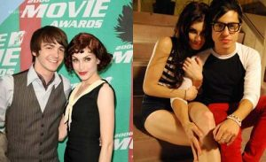 Stevie Ryan with her ex-boyfriend Drake Bell.