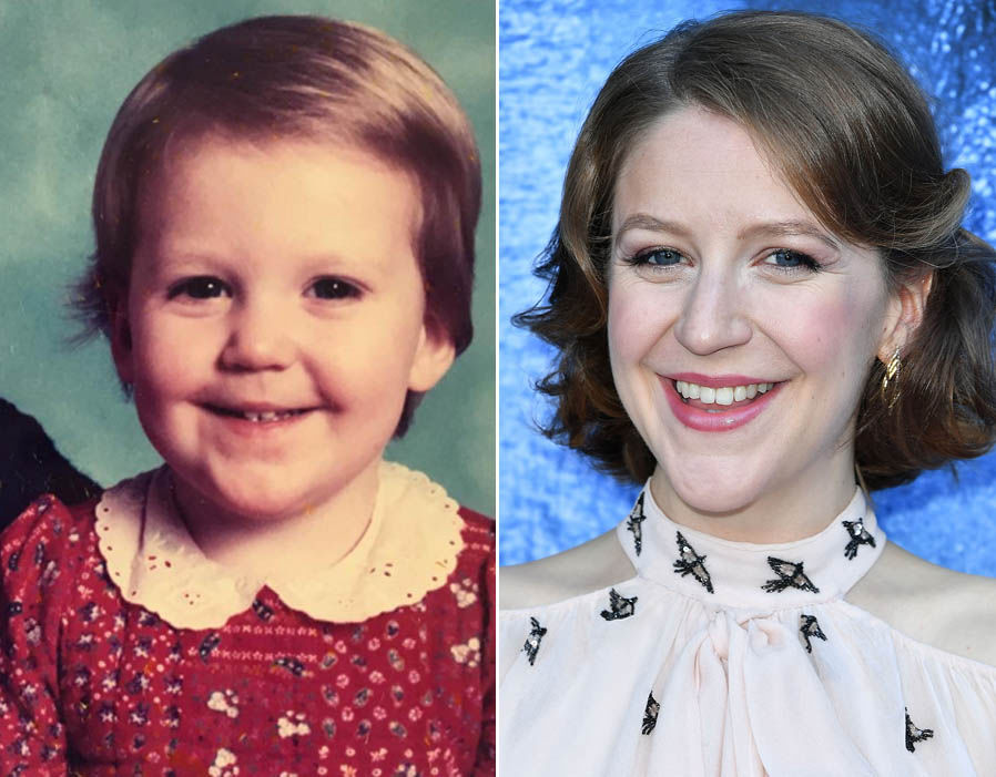 Game of Thrones actress, Gemma Whelan childhood photo.