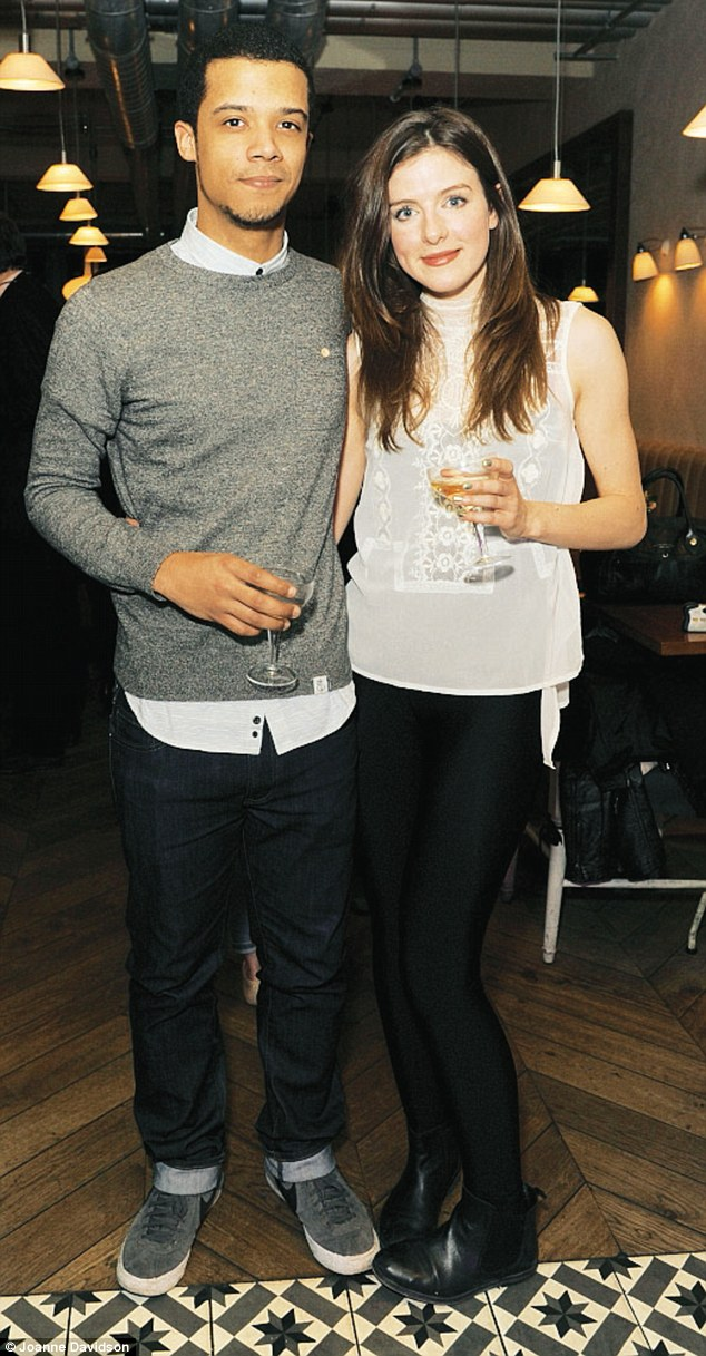 Boyfriend and Girlfriend, Jacob Anderson and Aisling Loftus.