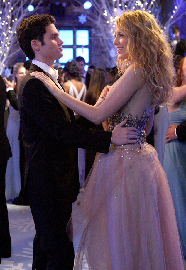 Blake Lively And Penn Badgley( On Screen Couple)