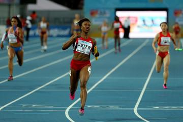 Carmelita Jeter during IAAF championship