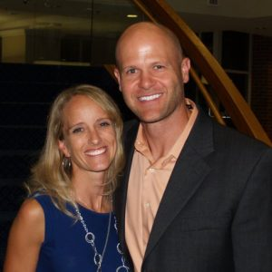 The husband and wife, Danny and Jessica Wuerffel.