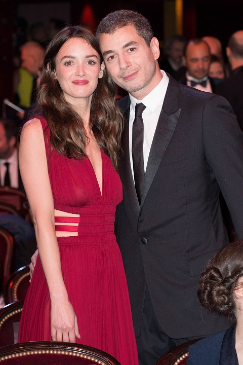 Charlotte Le Bon with her boyfriend Ali