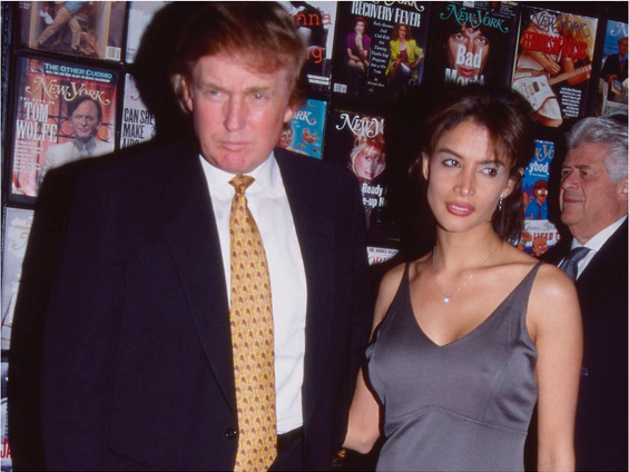 Donald Trump and Kara Young