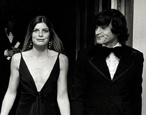 Gaetano 'Tom' Lisi with Katharine Ross