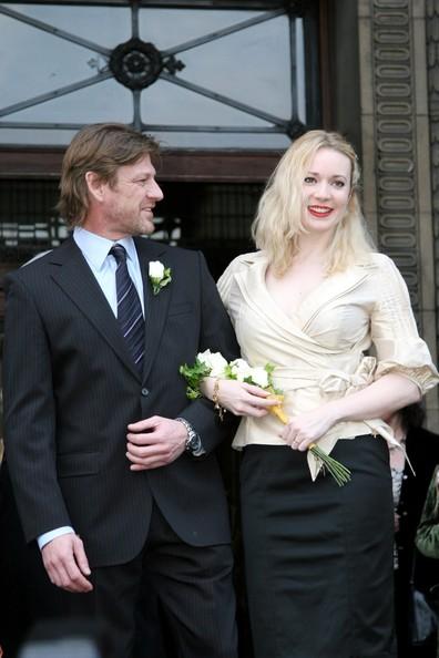 Sean Bean and his fourth wife, Georgina Sutcliffe.