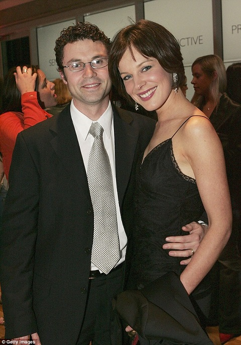 Glen Sealey with his beautiful wife, Natasha