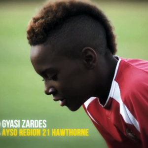 Gyasi Zardes during his young age.