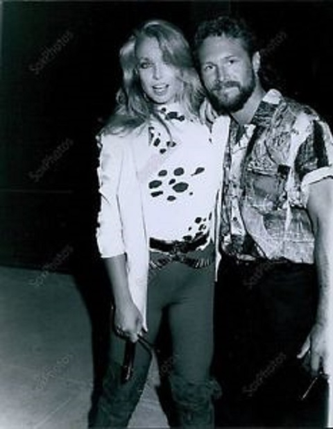 Heather Thomas with her ex-husband,Alan Rosenthal