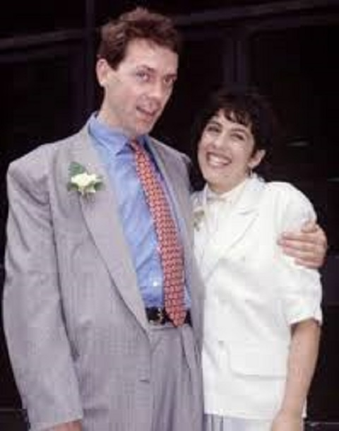 Hugh and his wife, Jo Green