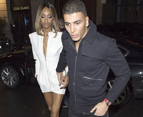 Jourdan Dunn with Younes