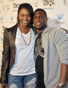 Kelvin Hart with Torrei Hart