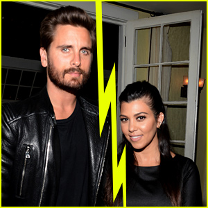 Kourtney Kardashian split up with Scott