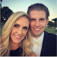 Lara Yunaska and Eric Trump