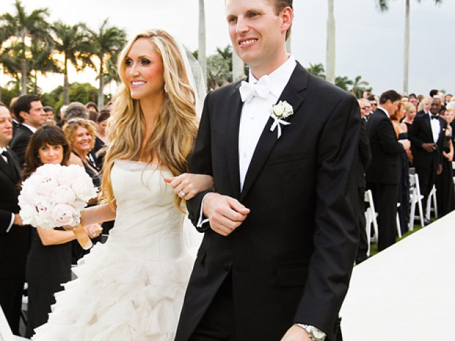 Lara Yunaska and Eric Trump's Wedding Ceremony