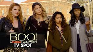 Liza in the movie Boo! A Madea Halloween
