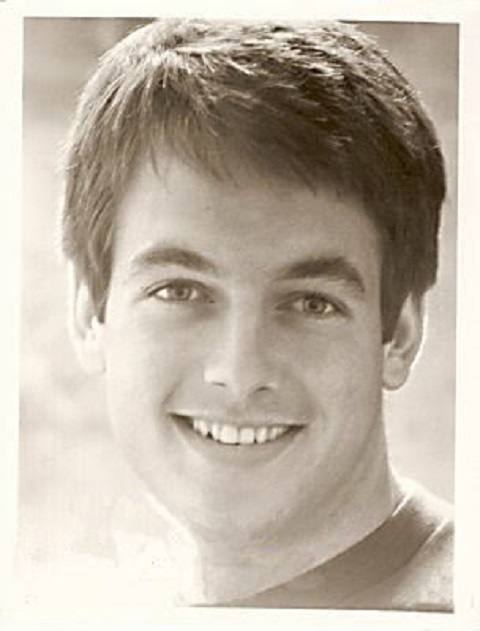 Mark Harmon, during his childhood