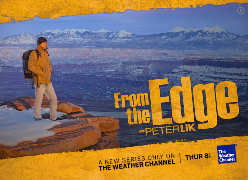 Photographer Peter Lik's television show, From the Edge.