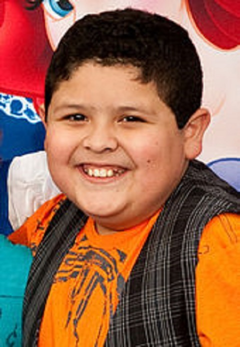 Rico Rodriguez during his childhood