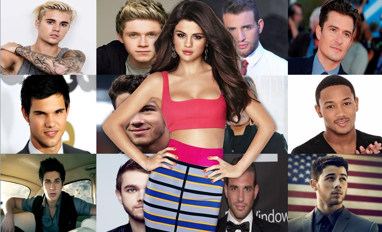 Selena Gomez and her suspected boyfriends