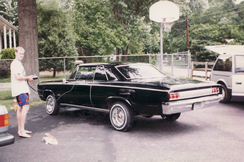 Vaughn Gittin's first car 64 Cutlass