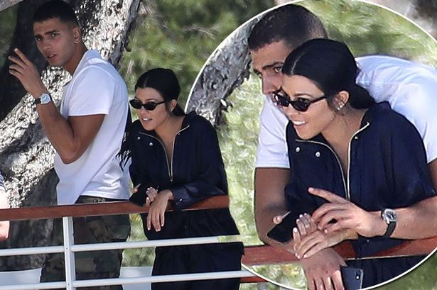 Younes Bendjima and Kourtney
